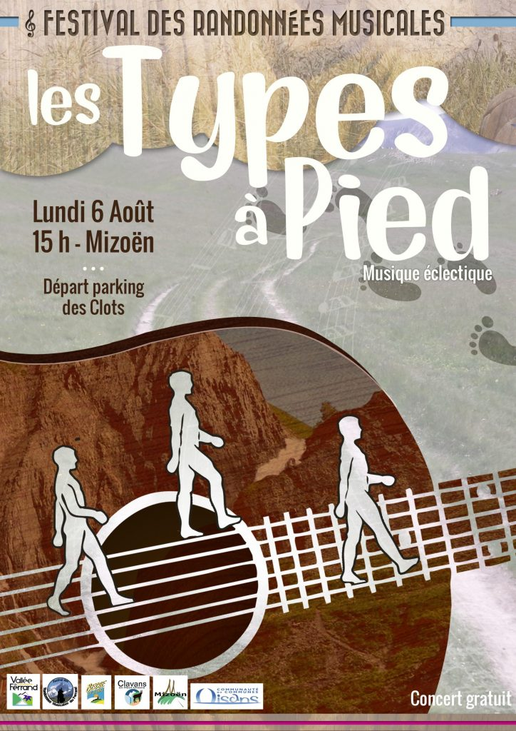 Randonnées musicales dans la Vallée du Ferrand au départ du chemin vers le refuge des Clots.