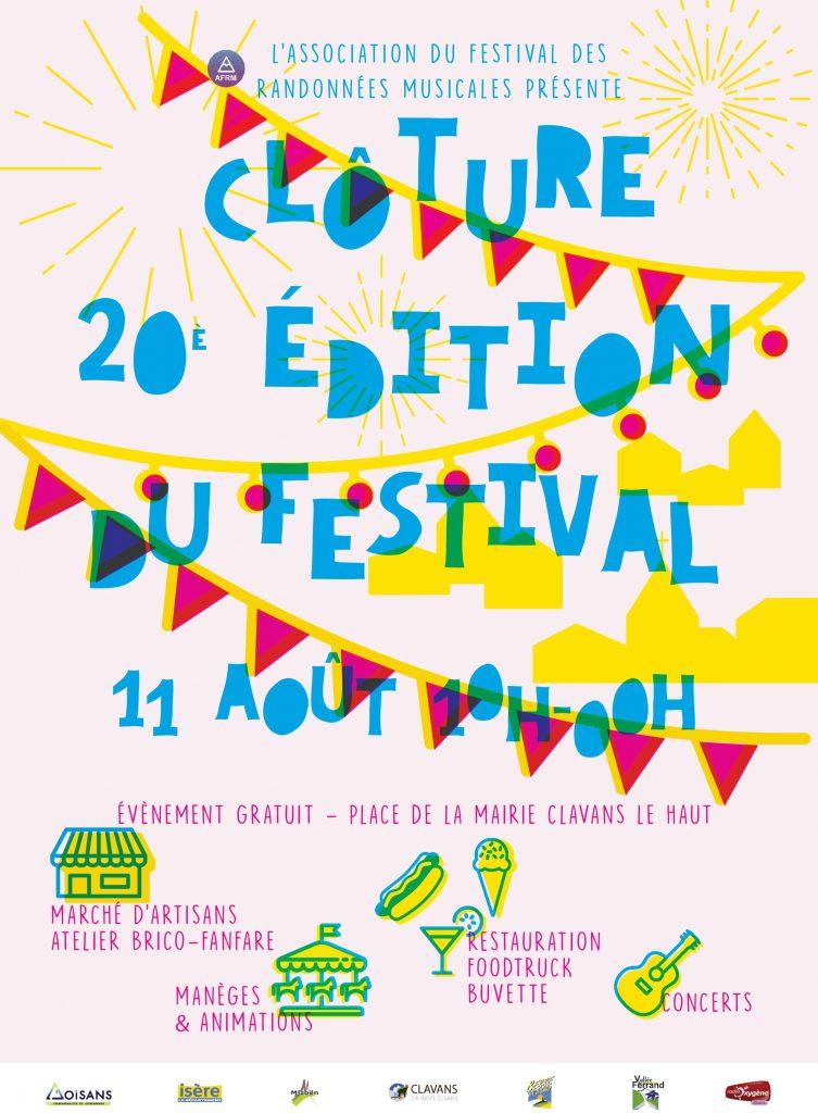 Clôture festival des Randonnées Musicales 20ème édition