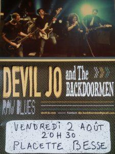Devil Jo & The Backdoormen Besse en Oisans Festival des Randonnées Musicales