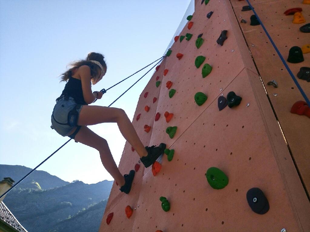 Escalade Association Sport 38 Grimpe en Oisans, Atelier enfants dans la Vallée du Ferrand Activités Vallée du Ferrand