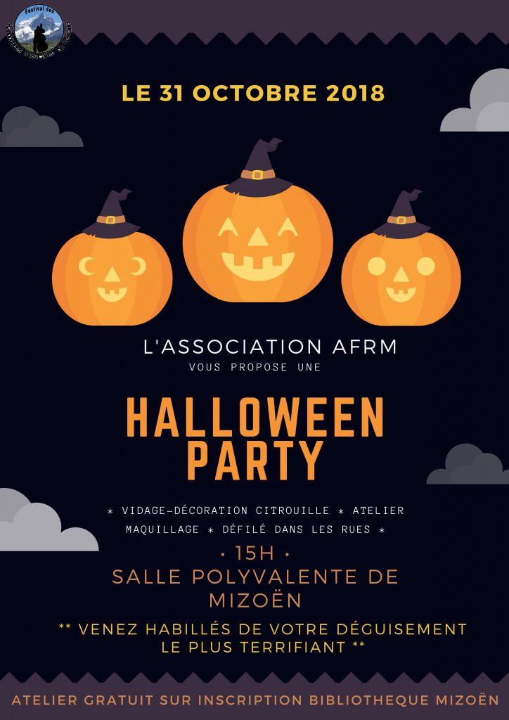 Atelier pour enfants-Halloween Party-Mizoën-Vallée du Ferrand-