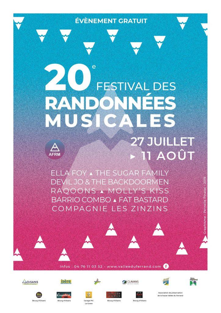 20 ème édition du Festival des Randonnées Musicales du Ferrand