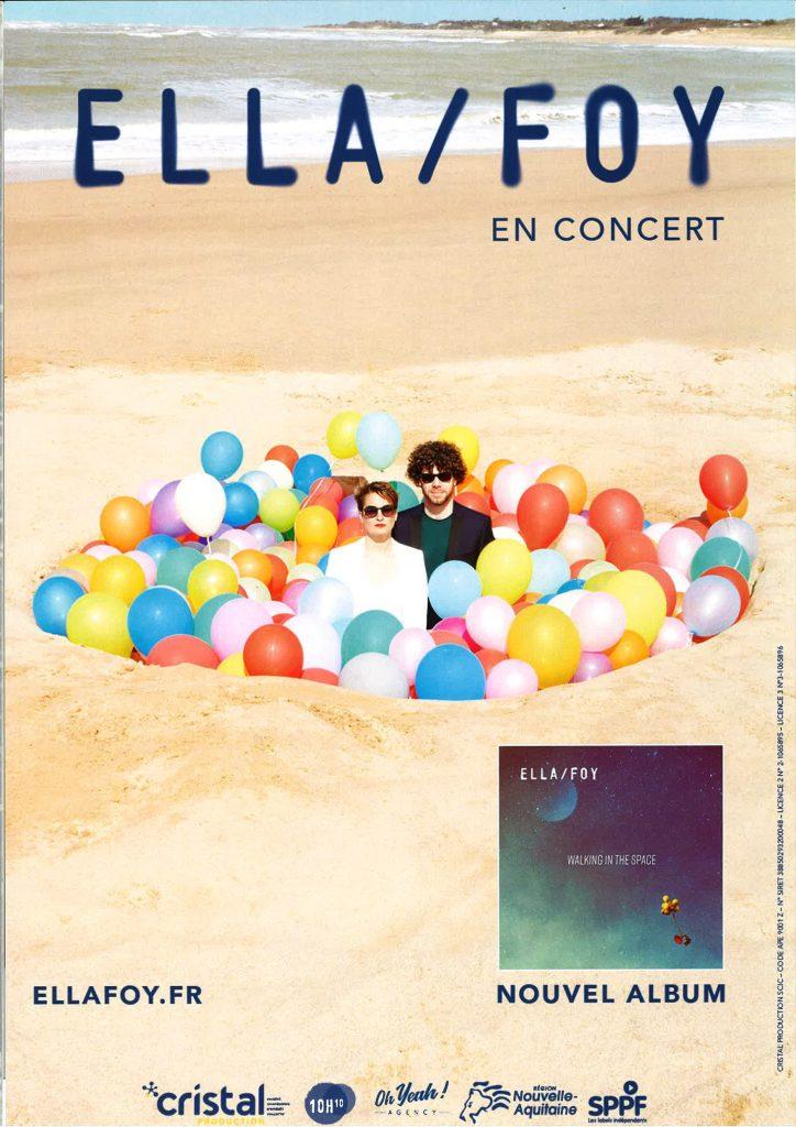 Ouverture du 20ème festival des Randonnées Musicales - Ella Foy en concert à Mizoën
