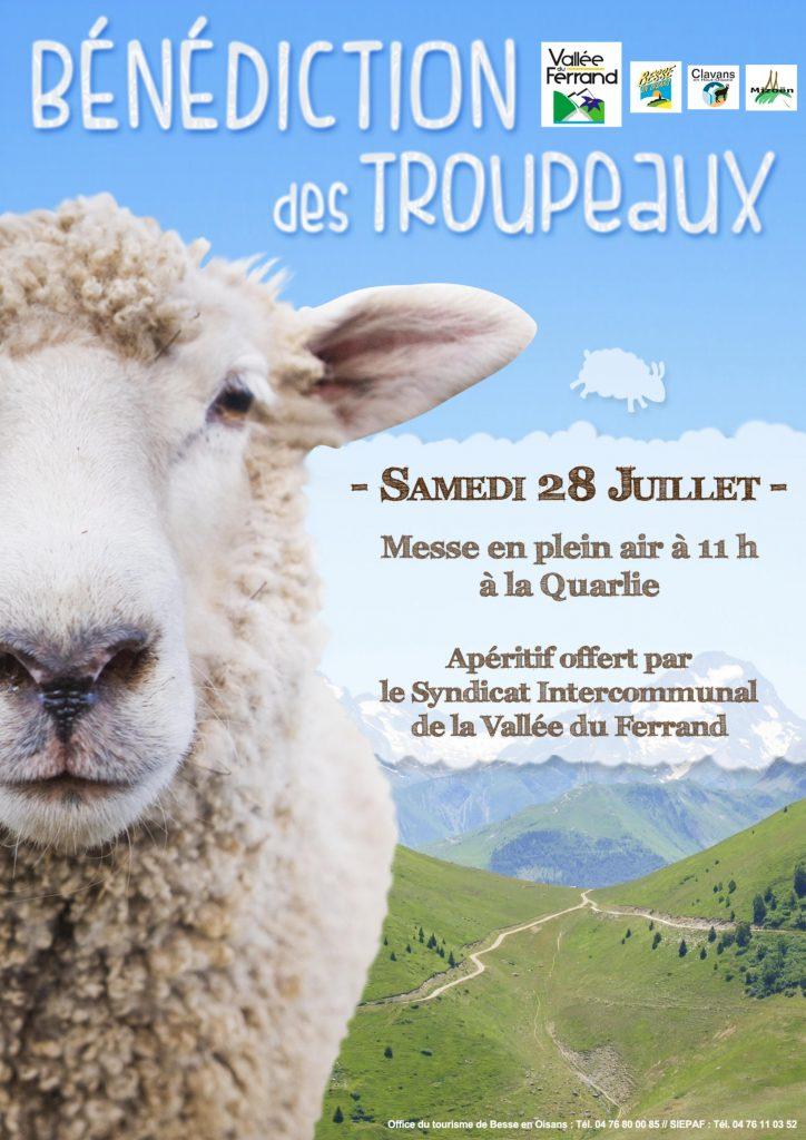 Bénédiction des Troupeaux Samedi 28 juillet