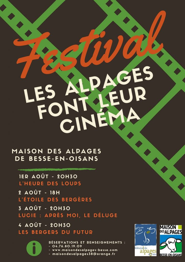 Festival du cinema - alpages - Besse en Oisans