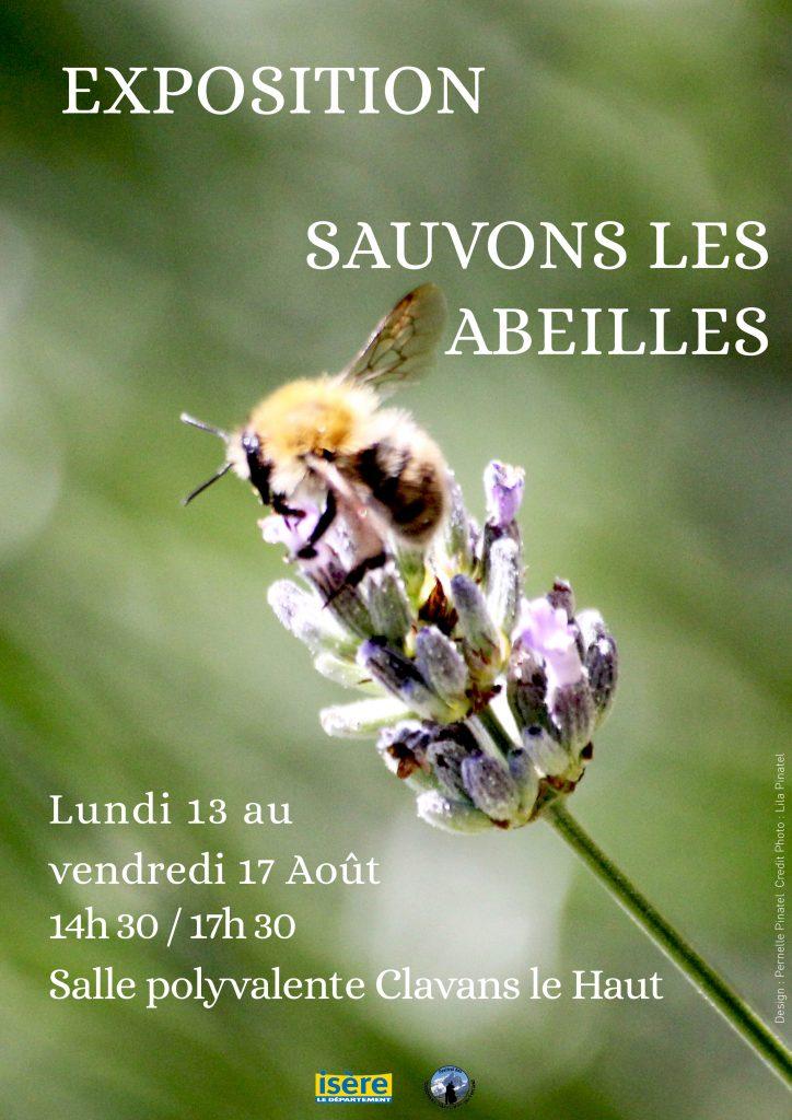 """Exposition """"Sauvons les abeilles"""" Clavans en Haut Oisans"""