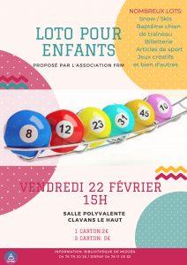 Loto pour les enfants à Clavans en Haut Oisans Vallée du Ferrand, animations